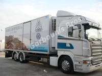 Scania R480 intended for fish transports
